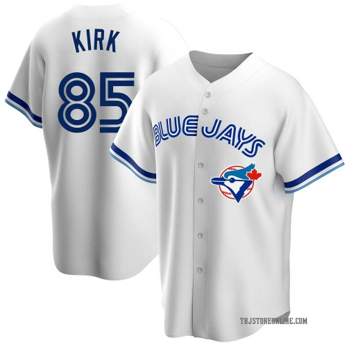 Alejandro Kirk Toronto Blue Jays Men's Replica Home Cooperstown Collection Jersey - White