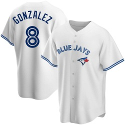 Alex Gonzalez Toronto Blue Jays Men's Replica Home Jersey - White