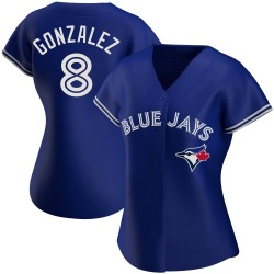 Alex Gonzalez Toronto Blue Jays Women's Authentic Alternate Jersey - Royal