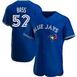 Anthony Bass Toronto Blue Jays Men's Authentic Alternate Jersey - Royal