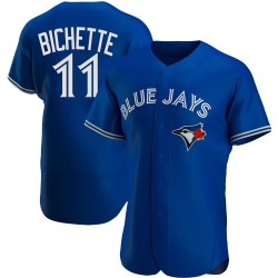 Bo Bichette Toronto Blue Jays Men's Authentic Alternate Jersey - Royal