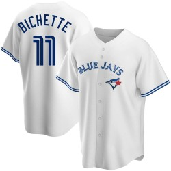 Bo Bichette Toronto Blue Jays Men's Replica Home Jersey - White