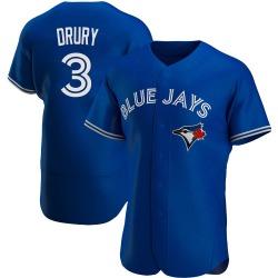 Brandon Drury Toronto Blue Jays Men's Authentic Alternate Jersey - Royal