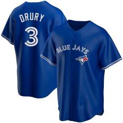 Brandon Drury Toronto Blue Jays Men's Replica Alternate Jersey - Royal