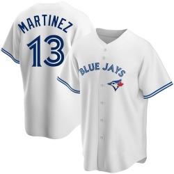 Buck Martinez Toronto Blue Jays Men's Replica Home Jersey - White