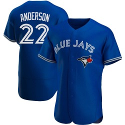 Chase Anderson Toronto Blue Jays Men's Authentic Alternate Jersey - Royal