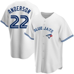 Chase Anderson Toronto Blue Jays Youth Replica Home Jersey - White