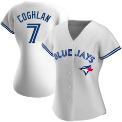 Chris Coghlan Toronto Blue Jays Women's Authentic Home Jersey - White