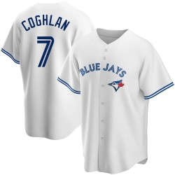 Chris Coghlan Toronto Blue Jays Youth Replica Home Jersey - White