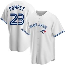 Dalton Pompey Toronto Blue Jays Men's Replica Home Jersey - White