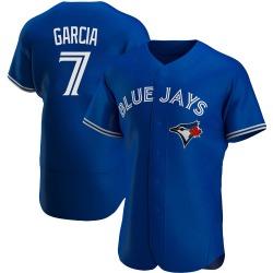 Damaso Garcia Toronto Blue Jays Men's Authentic Alternate Jersey - Royal