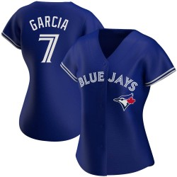 Damaso Garcia Toronto Blue Jays Women's Authentic Alternate Jersey - Royal