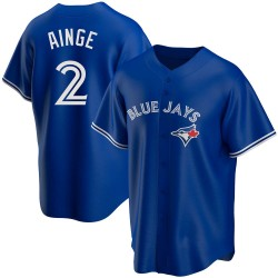 Danny Ainge Toronto Blue Jays Men's Replica Alternate Jersey - Royal