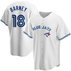Darwin Barney Toronto Blue Jays Men's Replica Home Jersey - White