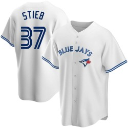 Dave Stieb Toronto Blue Jays Men's Replica Home Jersey - White