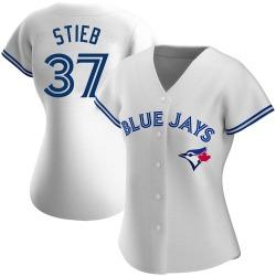 Dave Stieb Toronto Blue Jays Women's Authentic Home Jersey - White