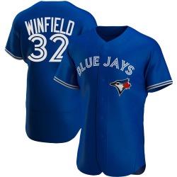 Dave Winfield Toronto Blue Jays Men's Authentic Alternate Jersey - Royal