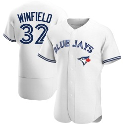 Dave Winfield Toronto Blue Jays Men's Authentic Home Jersey - White