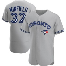 Dave Winfield Toronto Blue Jays Men's Authentic Road Jersey - Gray