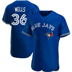David Wells Toronto Blue Jays Men's Authentic Alternate Jersey - Royal