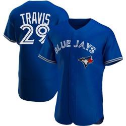 Devon Travis Toronto Blue Jays Men's Authentic Alternate Jersey - Royal