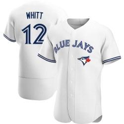 Ernie Whitt Toronto Blue Jays Men's Authentic Home Jersey - White