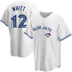 Ernie Whitt Toronto Blue Jays Men's Replica Home Jersey - White