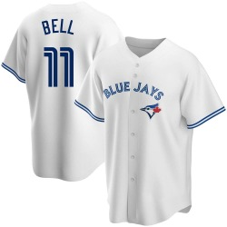 George Bell Toronto Blue Jays Youth Replica Home Jersey - White