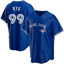 Hyun-Jin Ryu Toronto Blue Jays Men's Replica Alternate Jersey - Royal