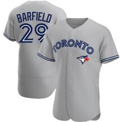 Jesse Barfield Toronto Blue Jays Men's Authentic Road Jersey - Gray