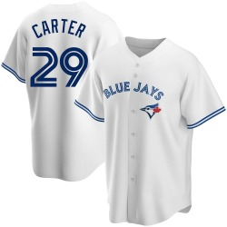 Joe Carter Toronto Blue Jays Men's Replica Home Jersey - White