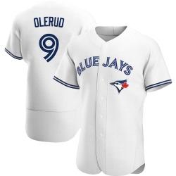 John Olerud Toronto Blue Jays Men's Authentic Home Jersey - White