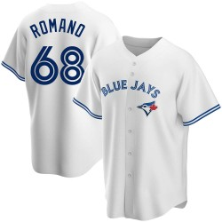 Jordan Romano Toronto Blue Jays Youth Replica Home Jersey - White