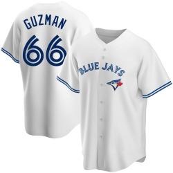Juan Guzman Toronto Blue Jays Men's Replica Home Jersey - White