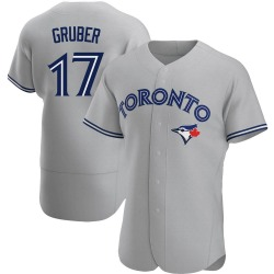 Kelly Gruber Toronto Blue Jays Men's Authentic Road Jersey - Gray
