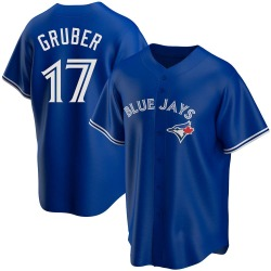 Kelly Gruber Toronto Blue Jays Men's Replica Alternate Jersey - Royal