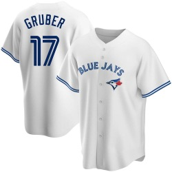 Kelly Gruber Toronto Blue Jays Men's Replica Home Jersey - White