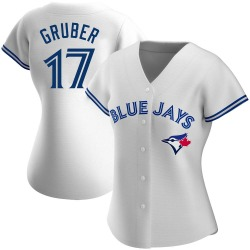 Kelly Gruber Toronto Blue Jays Women's Authentic Home Jersey - White