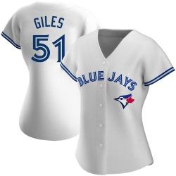 Ken Giles Toronto Blue Jays Women's Authentic Home Jersey - White