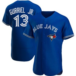 Lourdes Gurriel Jr. Toronto Blue Jays Men's Authentic Alternate Jersey - Royal