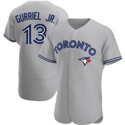 Lourdes Gurriel Jr. Toronto Blue Jays Men's Authentic Road Jersey - Gray