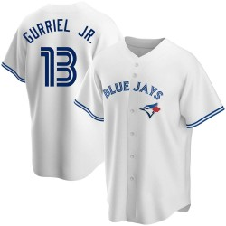 Lourdes Gurriel Jr. Toronto Blue Jays Youth Replica Home Jersey - White