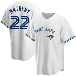 Mike Matheny Toronto Blue Jays Men's Replica Home Jersey - White