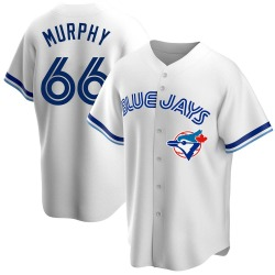 Patrick Murphy Toronto Blue Jays Youth Replica Home Cooperstown Collection Jersey - White