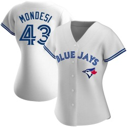 Raul Mondesi Toronto Blue Jays Women's Authentic Home Jersey - White