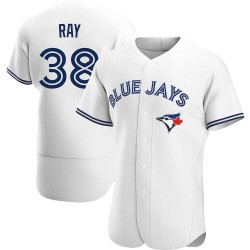 Robbie Ray Toronto Blue Jays Men's Authentic Home Jersey - White