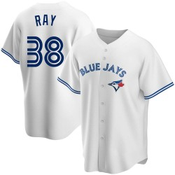 Robbie Ray Toronto Blue Jays Men's Replica Home Jersey - White