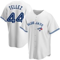 Rowdy Tellez Toronto Blue Jays Men's Replica Home Jersey - White