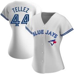 Rowdy Tellez Toronto Blue Jays Women's Replica Home Jersey - White