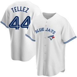 Rowdy Tellez Toronto Blue Jays Youth Replica Home Jersey - White